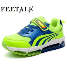 2017 New Arrival Kids Running Shoes Girls Outdoor Breathable Mesh Sports Shoes Spring Damping Outsole Non-Slip Kids Sneakers(China)