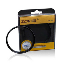 Original Professional Zomei 77mm Cross 6 Point 6PT Star Filter Star-effect Starburst for Canon EOS Nikon Sony Camera Lens 77 mm(China)