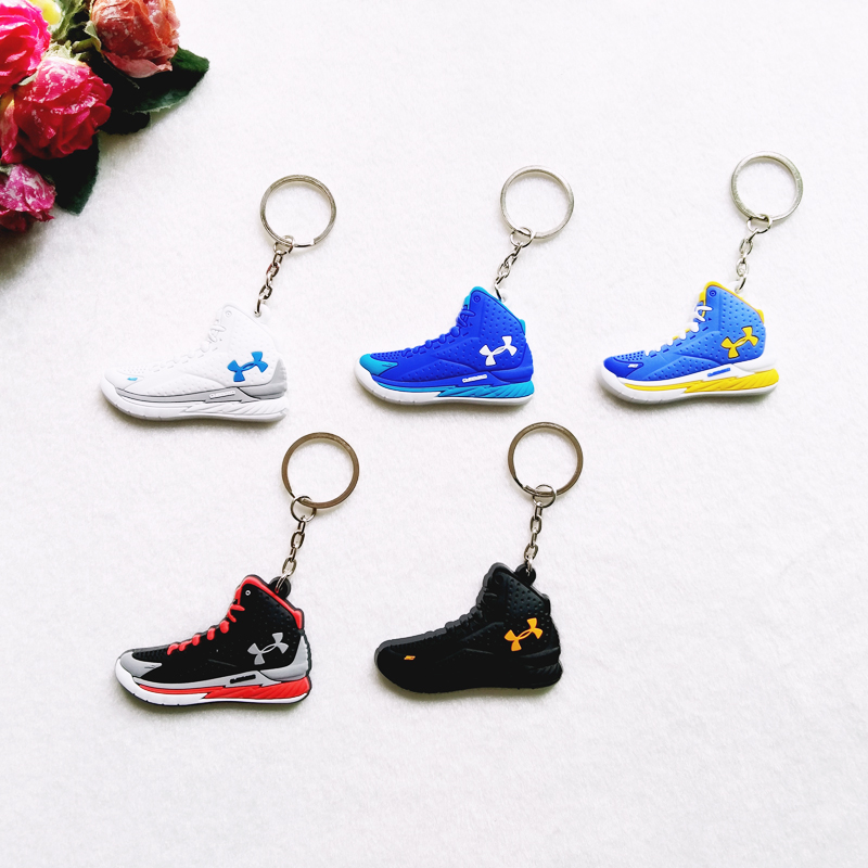 Mini Silicone ClutchFit Drive 3 Keychain Bag Charm Woman Key Ring Gifts Sneaker Key Holder Accessories Jordan Shoes Key Chain