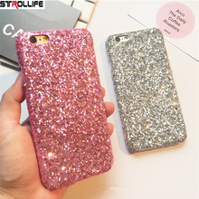 Buy STROLLIFE Luxury Bling Glitter Shining Flash Powder Phone Cases iPhone 8 8Plus 7 7Plus 6 6S Plus Ultra Slim Hard Back Cover for $2.07 in AliExpress store