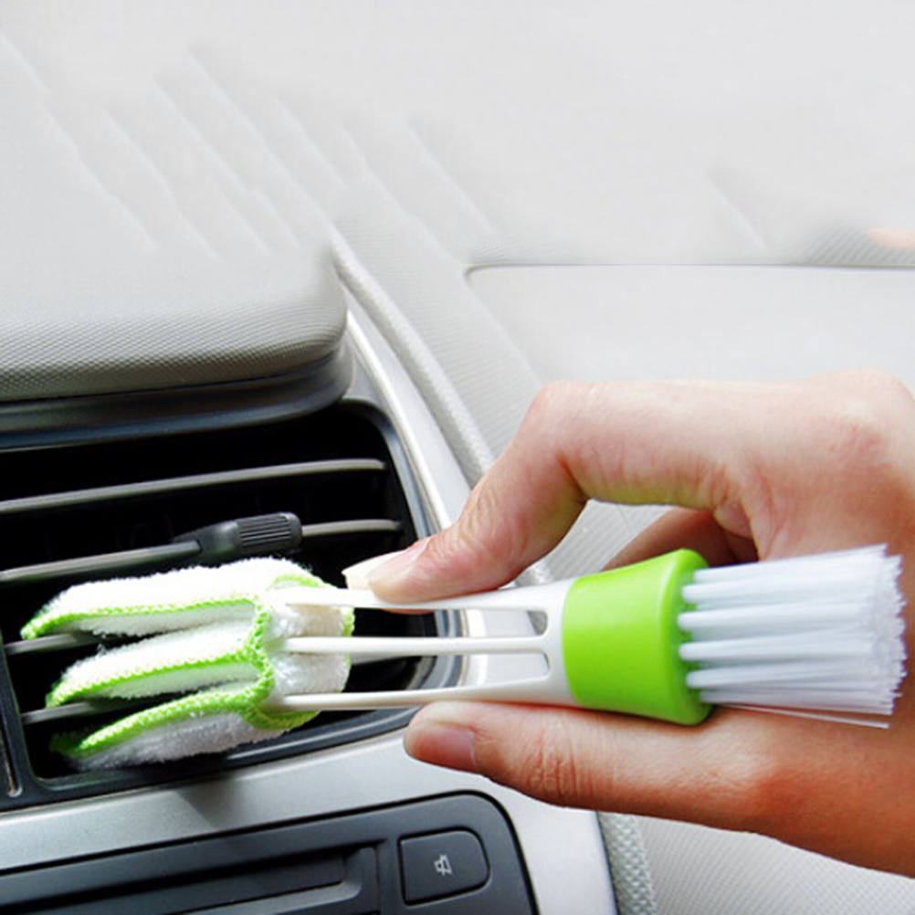 Computer CleanTools Window Leaves Blinds Cleaner Duster Pocket Brush Air-condition CleanerDouble Head Keyboard DustCollector new