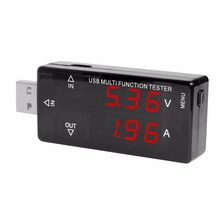 ACEHE Professional Intelligent USB2.0 Voltage Ammeter Mobile Power Test Detector Battery Capacity Tester KWS-A16 Hot Sale