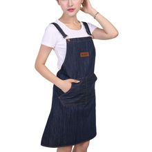 Kitchen Cooking Apron Men Woman Household Cleaning Accessories Hotel Chef Working Bib Sleeveless Apron