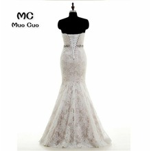 Buy 2018 Wedding Dresses Real Made Sexy Mermaid Dresses Wedding Lace Sashes Robe de mariage vestido de noiva Bridal Gowns for $185.30 in AliExpress store