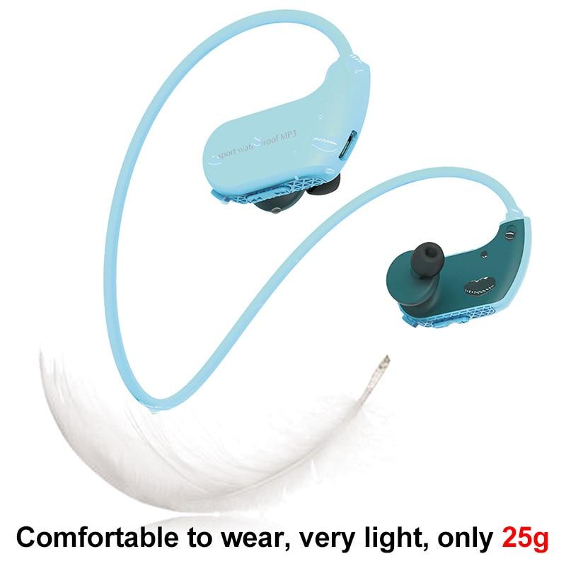 2-2.MP3 IPX8 Waterproof