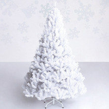 New Year gift 1.5 m / 1.8 m / 2. m / 2.4 m / white christmas tree festive party Christmas hotel home mall ornament