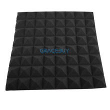 Acoustic Soundproofing Studio Foam 50cmX50cmX5cm Back Soundproof Material Wall Panels Musical Instrument For KTV Home Piano Room(China)