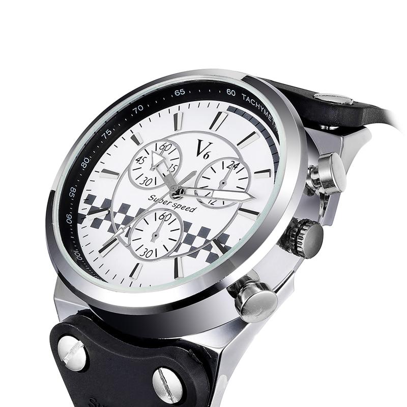 2017 Men Watch Casual Sports V6 Top Brand Luxury Famous Wristwatch Male Clock Quartz Watch Wrist Men Military Quartz watches<br><br>Aliexpress