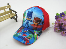 1pc 52cm PJ Masks Red Cap Cartoon Disposable Red Cap Kid Boy Birthday Party supplier