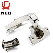 NED 90 Degree Hydraulic Hinge Angle 90 Corner Fold Cabinet Door Hinges Furniture Hardware For Home Kitchen Cupboard With Screws(China)