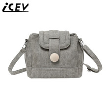 ICEV brand new lizard pattern doctor pack small chain strap shoulder bags ladies vintage bucket bag designer clutch crossbody