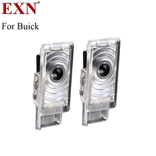 Car LED Projector Door Lamp Ghost Shadow Welcome Light Laser Courtesy Lamp Kit For Buick LaCrosse Envision regal Good Quality(China)