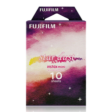 Genuine Fujifilm Instax Mini 8 Star Dust Film 10 Sheets Picture for Fuji Instant Mini 8 9 70 90 25 50s Camera Share SP-1 SP-2(Hong Kong)