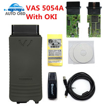 Newly VAS 5054A V4.13 Diagnostic Tool VAS5054A ODIS V4.0.0 Bluetooth With OKI Chips V4.13 Support for Audi for Skoda for VW