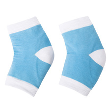 1Pair Gel Moisturizing Heel Cover Socks Skin Care Cracked Dry Foot Protectors Spa Half Socks Feet Care Product for Women(China)