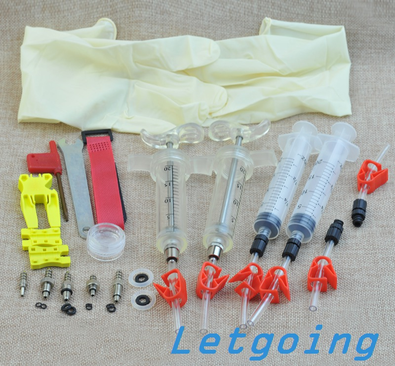 MTB Mountain Bike Hydraulic Brake Oil Fluid Bleeding Kit For DOT Brand AVID Formula Hayes CODE5 CODE R ELIXIR SRAM HOPE J3 J5 J7<br><br>Aliexpress