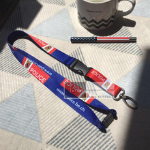 150pcs/lot 2 *90cm customized heat transfer/silk printing you logo on neck strap lanyards +free shipping by Fedex
