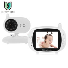 Fimei 3.5 inch LCD Screen Monitor Video Wireless Baby Monitor Security Camera 2 Way Talk Nigh Vision IR Temperature Monitoring(China)