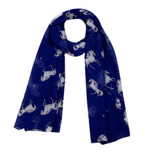Winter Scarf Women Fashion Horse Satin-Silk Square Wraps Female Shawl neckerchief female Bali yarn muffler Blanket Bufanda(China)