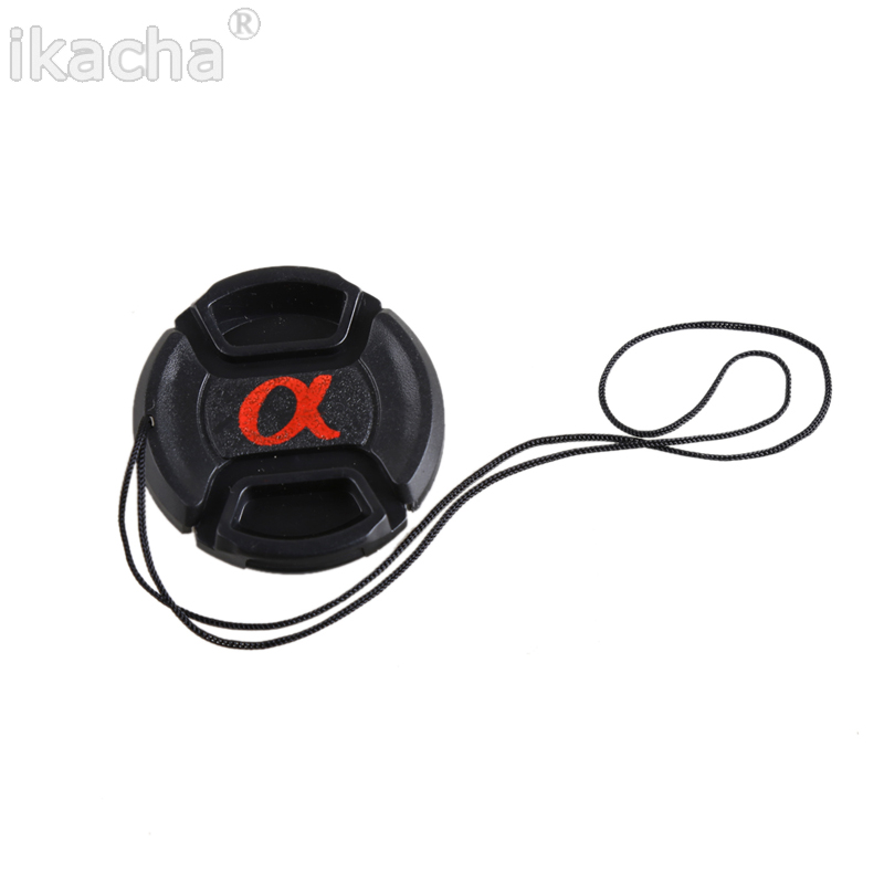 Snap-On Lens Front Camera Lens Cap Cover For Sony Alpha