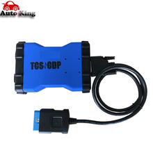 New vd tcs cdp pro white /BLUE color works on cars and trucks 3 in1 with new vci NO BLUETOOTH version -in stock(China)