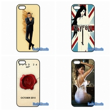 Cover For Samsung Galaxy S S2 S3 S4 S5 MINI S6 S7 edge Plus Note 2 3 4 5 James Bond 007 Hard Phone Case