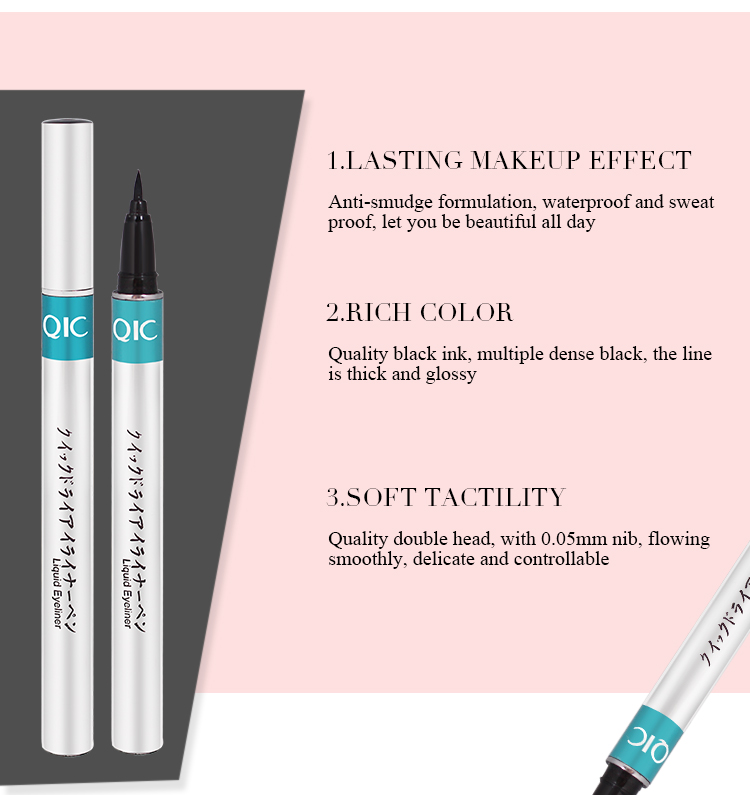 1pc Black Waterproof Liquid Eyeliner | Make Up Beauty Comestics 6