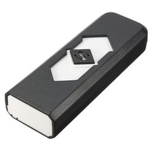 USB Rechargeable Lighter gadget ecological light smoke color choice