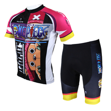 Anime One Piece Tony Tony Chopper  Cycling Jersey Men Cycling Equipment Cycling Sets X071