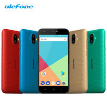 Origional Ulefone S7 Unlock 3G Mobile Phone MTK6580 Quad Core 1+8 Smartphone 5 Inch Android 7.0 Nougat 2500mAh Cheap Touch Phone(China)