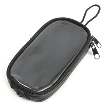 1pc Black Motorcycle Oil Tank Bag Waterproof Bag Screen Touch Motorcycle Navigation Bags