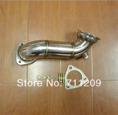 EXHAUST DECAT DOWNPIPE DOWN PIPE FOR VAUXHALL OPEL CALIBRA TURBO 2.0