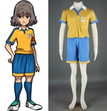 Inazuma eleven summer wear Raimon Middle School Jersey football uniform costumes cosplay(China)