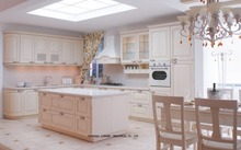 european style  kitchen cabinets(LH-SW050)