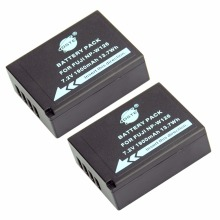 DSTE 2PCS NP-W126 np-w126 NP-W126S Camera Battery for Fuji HS50 HS35 HS33 HS30EXR XA1 XE1 X-Pro1 XM1 X-T10(China)