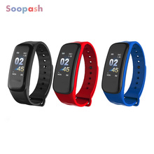 Buy Bluetooth Smart Band Blood Pressure Heart Rate Monitor C1 Wristband Waterproof Fitness Bracelet Sleep Tracker watch pk mi band 3 for $15.00 in AliExpress store