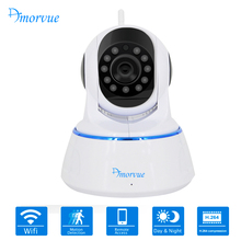 Amorvue 1080P Full HD Wireless Wifi Camera PTZ P2P CCTV IP Camera IR CUT Surveillance Camera Support TF Card Remote Access(China)