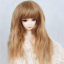 bjd wig 9-10 inch 1/3 1/4 1/6 high-temperature wig boy soom vampire long curly hair sd doll Wigs fashion type stylish hair