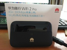 300Mbps Huawei WiFi 2 Pro E5885 3G 4G LTE FDD TDD Wireless Pocket WiFi Router with Ethernet Port 6400mAh power bank
