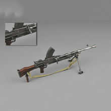 WWII 1/6 British Soldier Weapon Bren Gun Models Toys ZY2003 For 12 Inches Action Figures Accessories