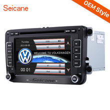 Seicane 2 Din Universal Radio DVD Player for 2010-2013 Skoda GPS Navigation Car Stereo Support Aux IPOD RDS(China)