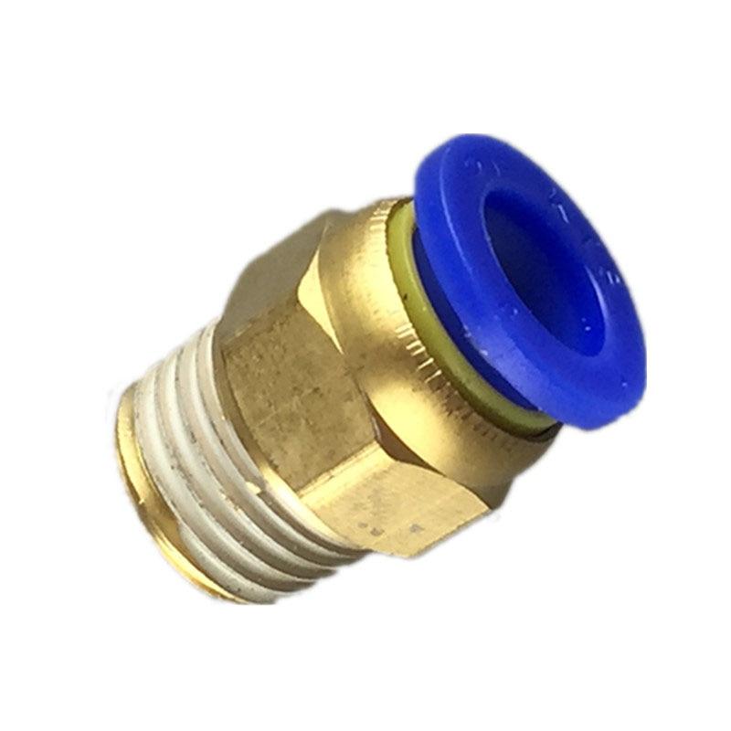 """1//4/"""" filetage 8 mm pneumatique Coude Régulateur Gaz Raccord PUSH FIT AIR SL8 02"""