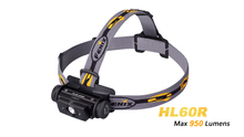 2016 NEW Fenix HL60R Cree XM-L2 U2 Neutral White LED 950 lumens headlamp(Powered by one 18650 or two CR123A batteries)(China)