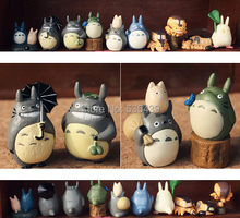 NEW HOT ! 10pcs/set 4-5CM Japanese Cartoon Ha yao Anime Figure My Neighbor Totoro action figure Toys Christmas gift