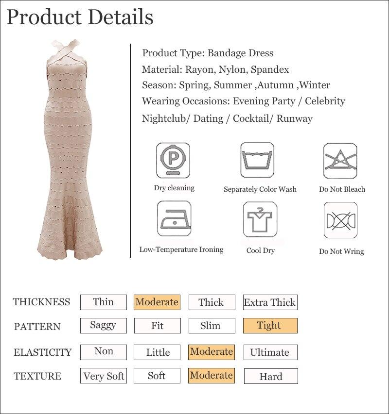 ShejoinSheenjoy 2018 Sexy Halter Neck Long Bandage Dress Vestidos Nightclub Hollow Out Celebrity Party Dresses Women Maxi Dress (4)