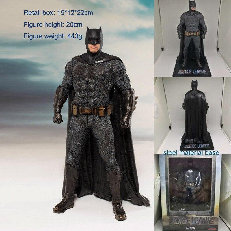 JLA Anime American Super Hero Batman Boxed 20cm