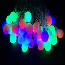 Fairy 32 Changeable LED Cherry Ball Tree Light in 47 cm Height  Holiday Ball tree light, standing  tree light wedding decoration