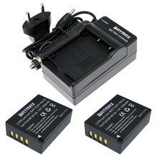 2PC 7.2V 1260mAh Li-ion NP-W126 NP W126 Battery+Charger for Fujifilm Fuji NP-W126 NPW126 BC-W126 BCW126 X-T10 XT10