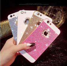 Luxury Cell Phone Case Bling Diamond Sparkle Glitter Protective Cover For iPhone 5S 5 SE 6S 6 6Plus 6splus