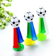 Football Fans Plastic Cheer Horn Party Carnival Sports Safety High quality Festivals Props Three Sound Trumpet Toy(China)